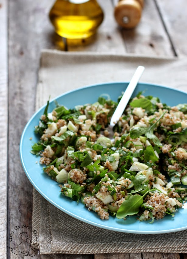 bulgur przepis salatka