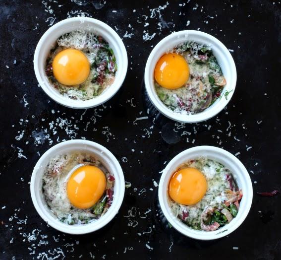 jajka w kokilkach przepis