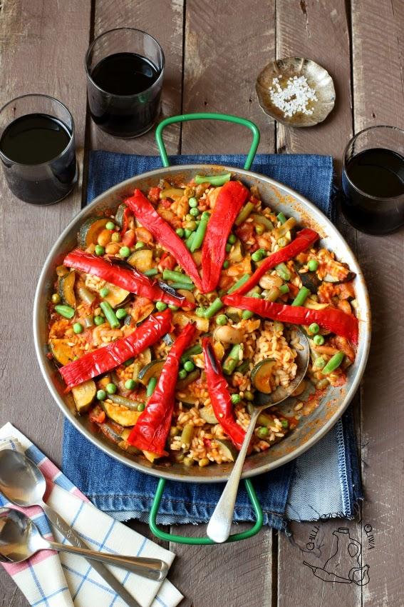 paella wegetarianska