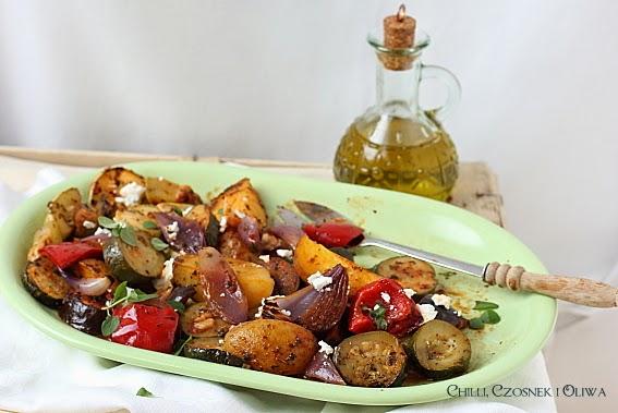 warzywa pieczone po grecku