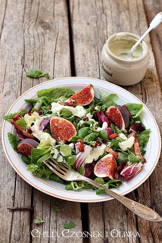 salatka z figami przepis