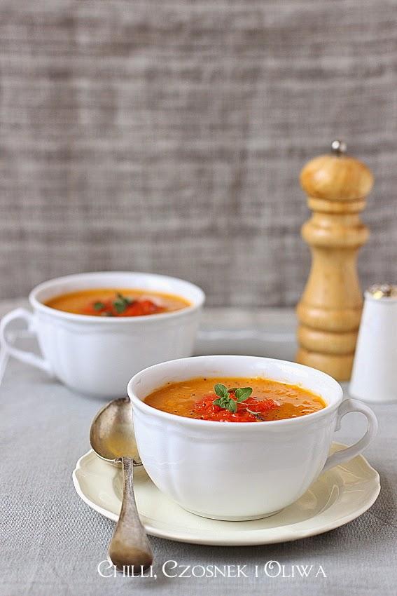 rozgrzewajaca jesienna zupa z dyni