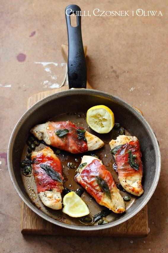 saltimbocca z kurczaka przepis