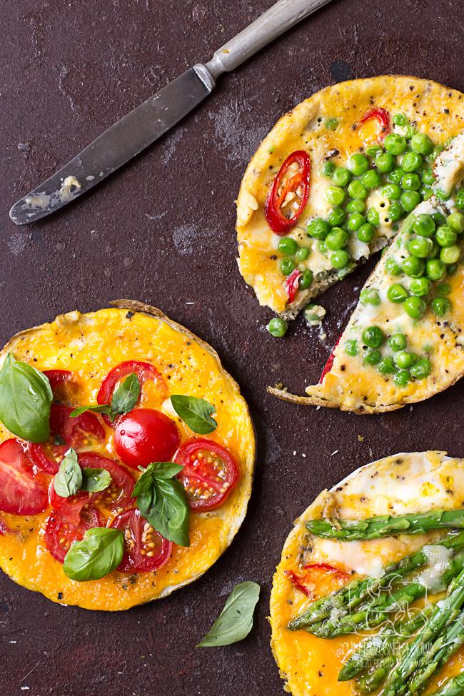 frittata, śniadanie, omlet, jajka, szybkie śniadanie