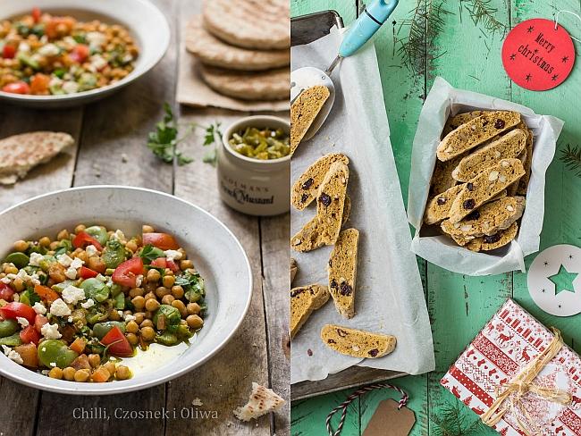 10+ teł do fotografii kulinarnej znalezionych na śmietniku. Chilli, Czosnek i Oliwa