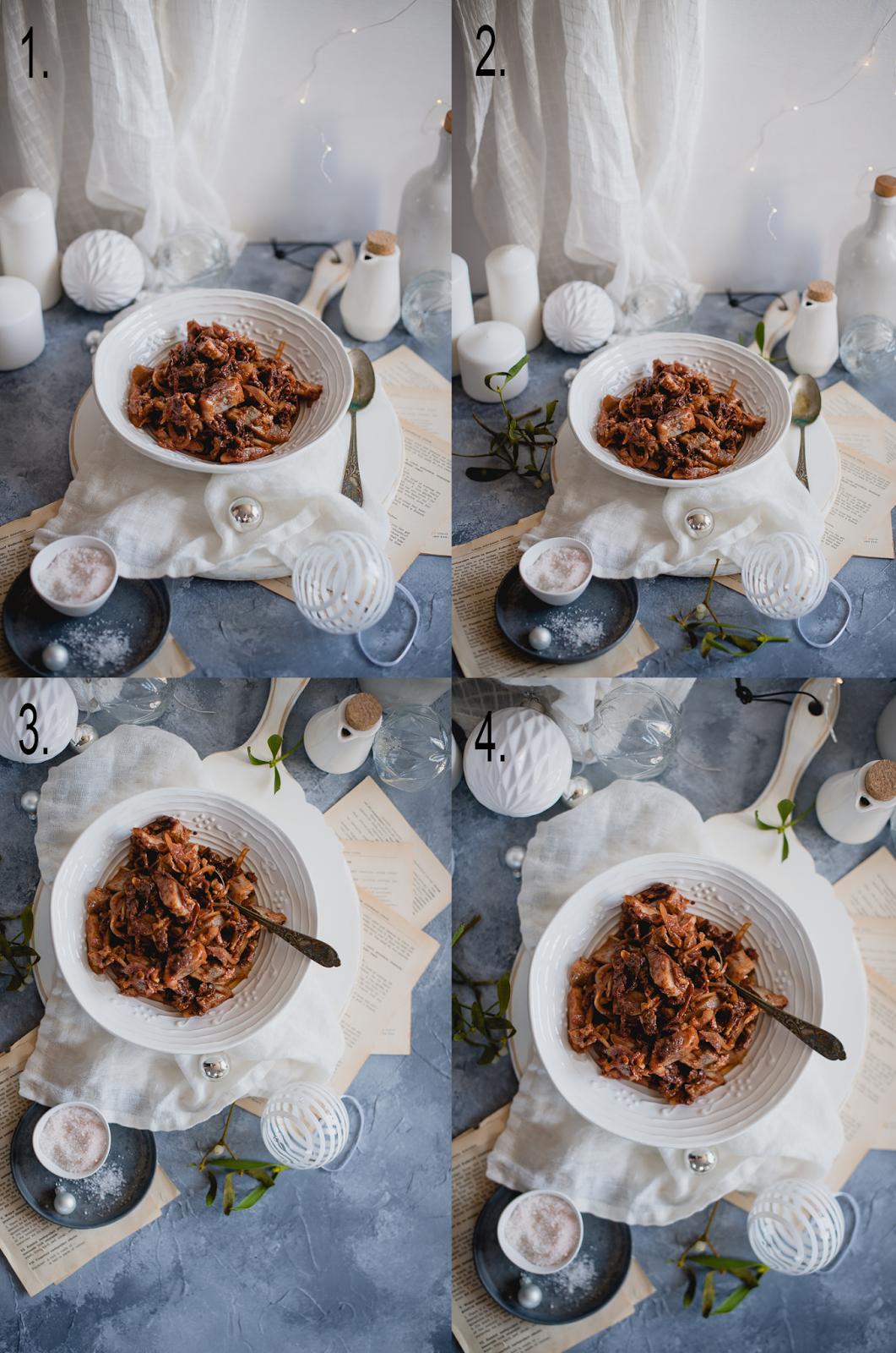 Kulisy fotografii kulinarnej: omawianie zdjecia