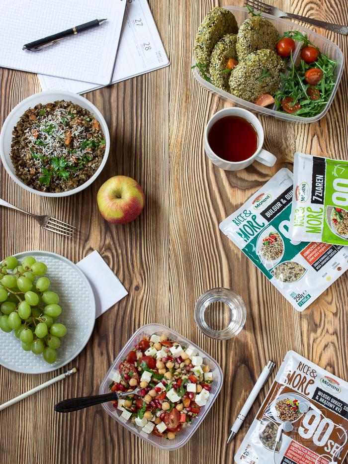 3 przepisy na szybkie obiady do pracy na bazie kaszy/ Chilli Czosnek i Oliwa