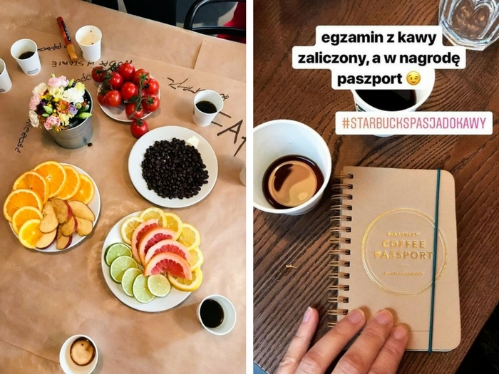 relacja z warsztatów z coffee and food pairing