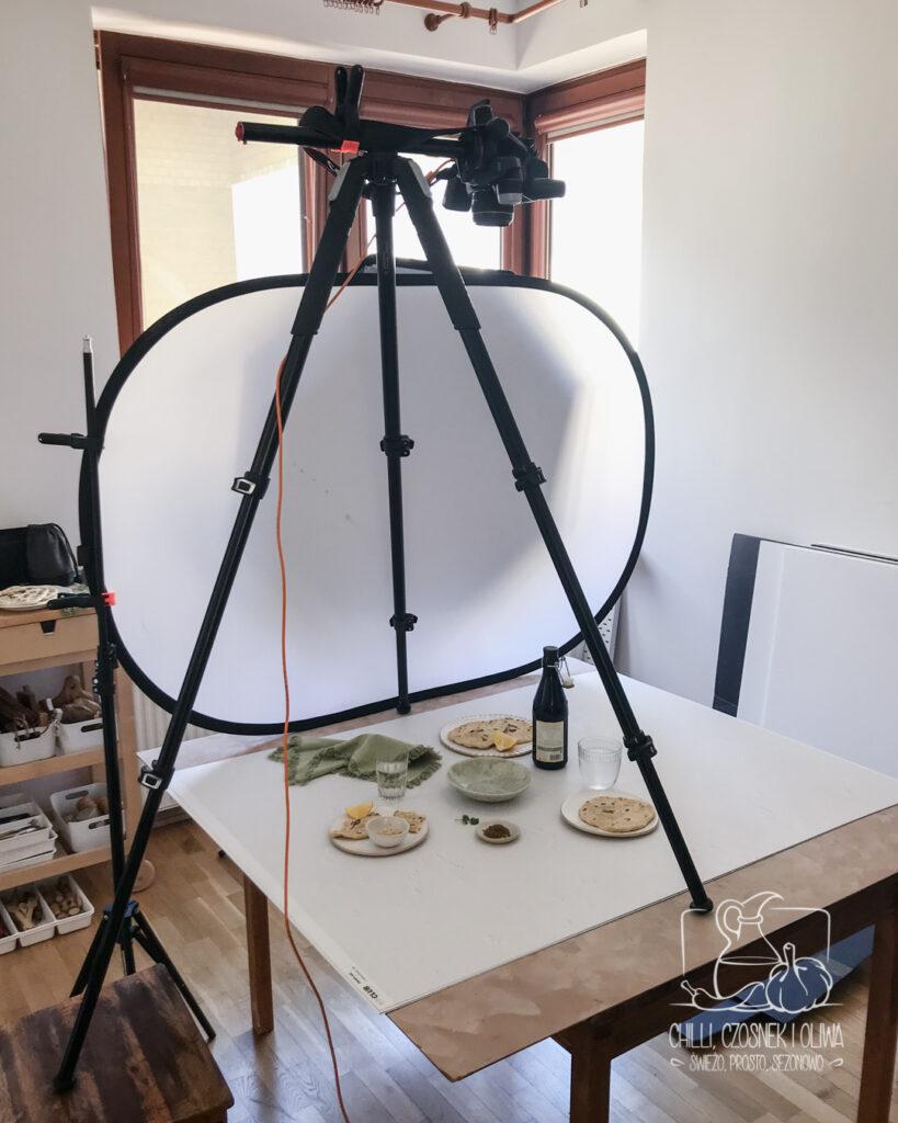 statyw do fotografii kulinarnej Manfrotto