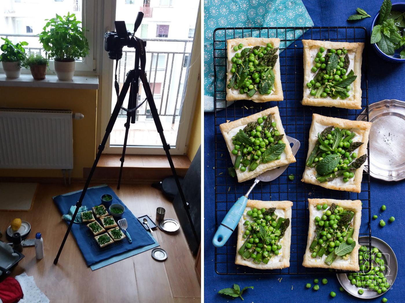 statyw w fotografii kulinarnej